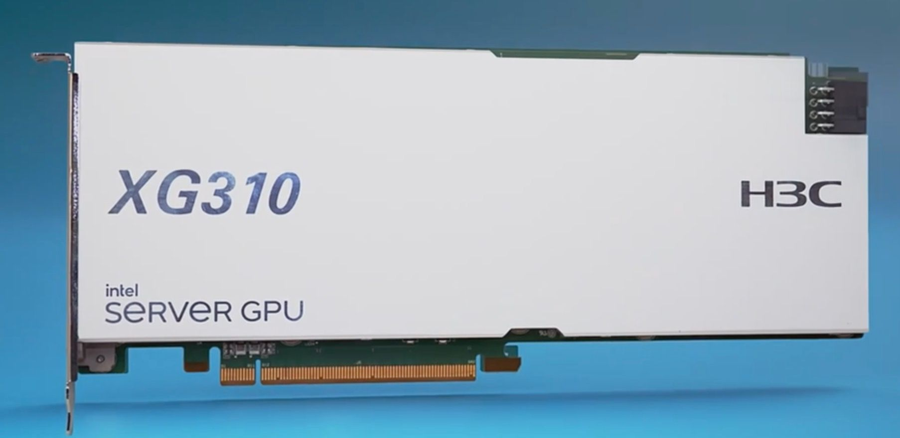GPU Intel Server H3C XG310